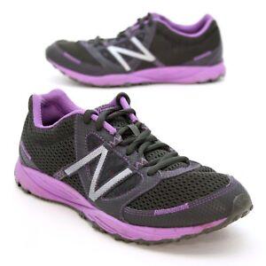 New Balance 310 Ladies 7.5 B (38 Europe) Black/Purple Trail Running Sneakers