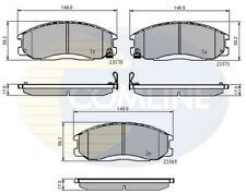 Comline Front Brake Pad Set CBP3938  - BRAND NEW - GENUINE - 5 YEAR WARRANTY