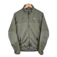 Mens Nike Athletic Dept Green Full Zip Sports Track Jacket Size Medium