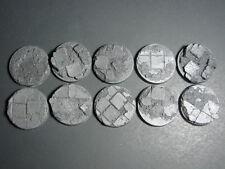 40 mm  Rubble Block Bases lot of 10