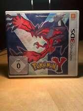 Pokemon Y Nintendo 3DS N3DS DSi XL KOMPLETT guter Zustand X Schwarze Weisse
