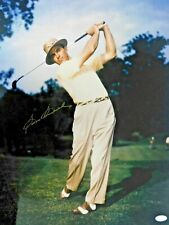 Sam Snead Golfer PGA Signed 16x20 Glossy Photo JSA Authenticated