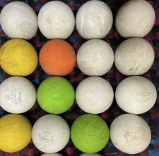 16 Used Lacrosse Balls