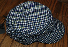 NWT Women's Life is Good Plaid Quilted Cadet Cap