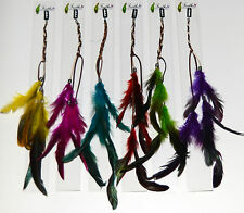 Hair Feather 16 inch Extension. Clip in. Choice of Colour. UK