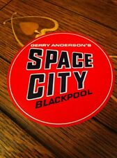 Gerry Anderson SPACE CITY BLACKPOOL EXHIBITION STICKER. 1970's SPACE 1999 , Rare