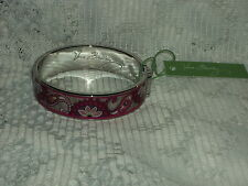 Vera Bradley Paisley Meets Plaid Bangle Bracelet Floral NWT Free Shipping BIN$30