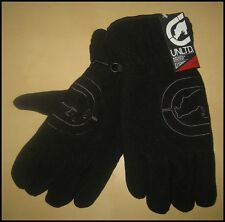 NWT ECKO UNLTD MEN WINTER FLEECE GLOVES SIZE L/XL BLACK FREE US SHIPPING