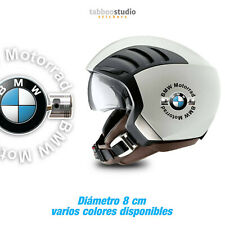 2 pegatinas BMW Motorrad casco bicilíndrico 2V stickers vinile moto