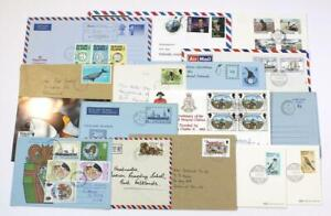 Falkland Islands, etc. Mixed Lot, May include Covers, Cards, Air Mails