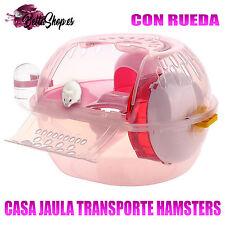 JAULAS PARA HAMSTERS CASA TRANSPORTE JAULAS DE HAMSTERS JAULA HAMSTER ROEDORES