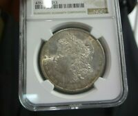 1884-O Morgan Silver Dollar $1 US Coin 90% GEM BU NGC MS61 White Mint Luster