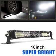 10inch Super Slim Single Row 6000K CREE LED Work Light Bar Spot Beam Driving 8''
