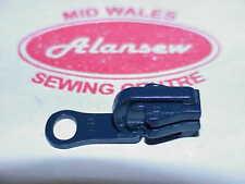 GENUINE YKK NAVY SLIDER REVERSABLE for No5 Vislon toothed zip (zip not supplied)