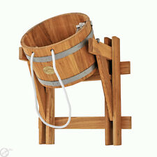 10L (2,6 gallon) bucket FALLS OAK for Saunas, Russian bath, Extremely refreshing