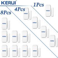 433MHz KERUI D025 Wireless Door/Window Sensor Lot For Home Security Alarm System