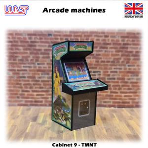 Arcade Machine Tortues Ninja 1:3 2 Piste Côté Scène Pub BAR Jeu Rétro Wasp