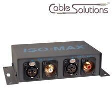 Jensen Transformers PI-2XR Stereo Audio Ground Isolator Hum/Noise Eliminator