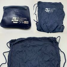 Vintage 1984 Los Angeles Olympic Games  Backpack Knapsack Convertible USA Blue