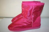 Rue21 etc Women's Pull-On comfort boots, Pink Size Large 8-9