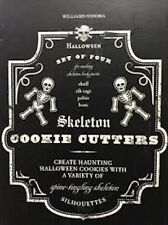 Skeleton Body Parts Halloween Cookie Cutters from Williams Sonoma #2111391 NEW