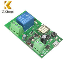 Smart Switch Home Relay Module Sonoff WiFi Wireless 5V-12V Self-locking K