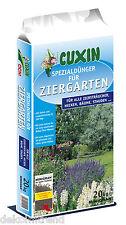 Cuxin Ziergartendünger Spezialdünger 20kg Hecken Stauden Bäume Rosen Sträucher