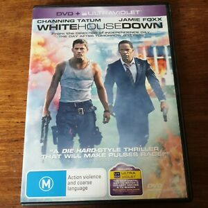 White House Down DVD R4 Like New! FREE POST