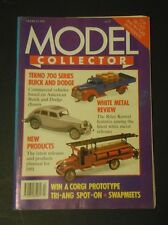Model Collector Magazine (Mar 1991) - White Metal Review - New Products