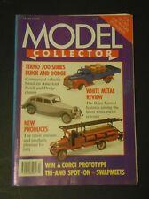 Modèle Collector Magazine (Mar 1991) - Métal blanc Review-Produits Neufs