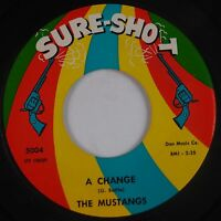 THE MUSTANGS: First Love SURE SHOT Northern Soul 45 Super HEAR IT