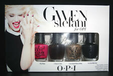 OPI Gwen Stefani Mini Nail Polish Lacquers Rock Starlets 4pc Set 1/8 oz NEW!!!