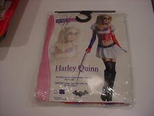 Secret Wishes Batman Arkham ~HARLEY QUINN Asylum Costume~MEDIUM NIP FREE SHIP