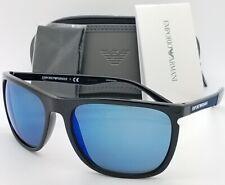 Emporio Armani sunglasses EA4107 501755 59mm Blue Mirror AUTHENTIC Classic 4107
