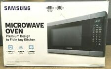 New Samsung Stainless Steel Microwave Ms19M8000As/Aa ✅��� Open Box