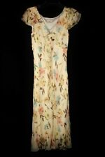 Phase Eight NWOT 100% Silk Floral Dress & Scarf Sz 10