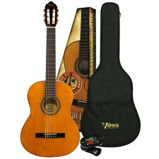 Valencia VC103K ¾ Size Classical Guitar Pack with Gig Bag & Clip-on Tuner