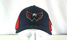 Washington Capitals Blue/Red  Baseball Cap Stretch Fit S/M