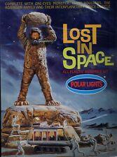 Polar Lights Lost in Space Monster Boulders Chariot Plastic Model Kit Nib c646