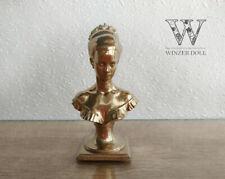 Decorative mini statuette gold, dollhouse decoration