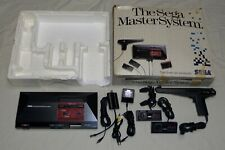 Sega Master System Console w/ Box, Controllers & Light Phaser