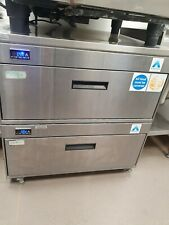 More details for 2 x adande undercounter single drawer fridge.