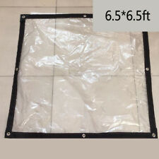 30MIL Reusable Porch Patio Enclosure Cover Waterproof Clear PVC Curtain Tarp BMG