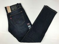 Men's Levi's Slim Fit 511 Blue Jeans Size 31 X 32 Stretch Dark Wash Pants New