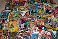 HUGE LOT of 250-300 DC MARVEL OR INDY COMICS (1970 to 2018) Bronze-Modern F/NM-