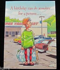 Leanin Tree Birthday Humor Getting Older Greeting Card Multi Color R129