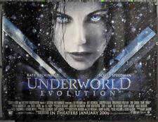 UNDERWORLD EVOLUTION 2006 ORIG 46X60 SUBWAY MOVIE POSTER KATE BECKINSALE