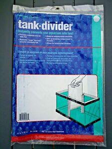 "1 Penn-Plax Tank Divider Ex. large 11 3/8"" x 15.5"" Fits 20 Gallon High Free Ship"