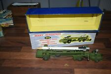 DINKY TOYS 666 missile erector vehicle corporal missile Boxed