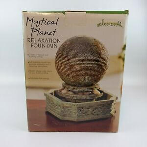 Mystical Planet Relaxation Fountain